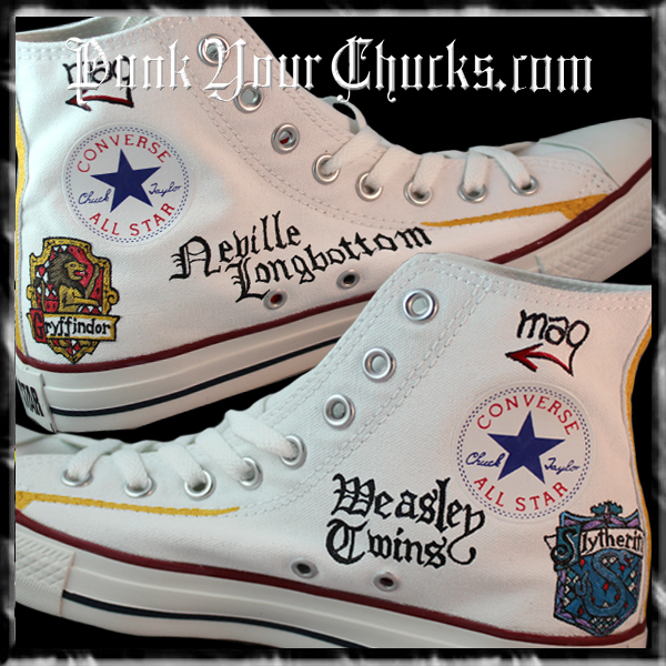Harry Potter 7 part 2 high chucks inside