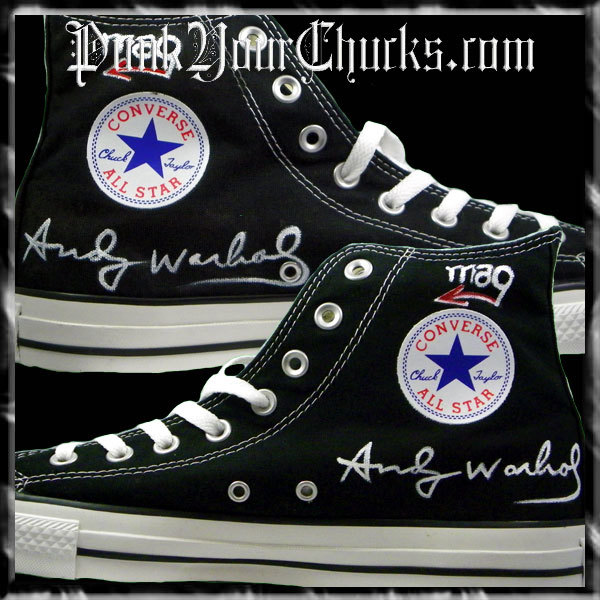 Marilyn Monroe Andy Warhol High Chucks i