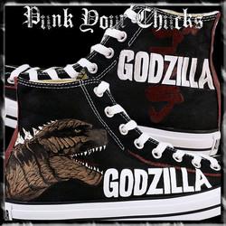 Godzilla High Chucks main