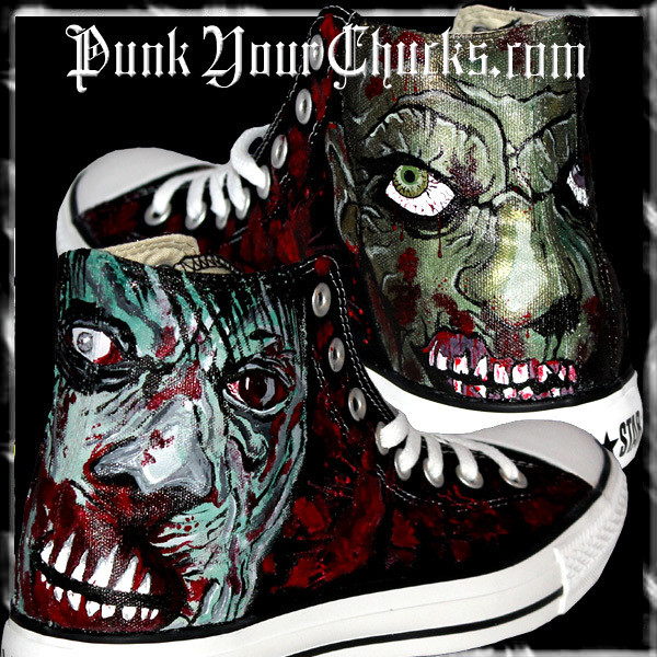 ZOMBIE High Chucks MAIN