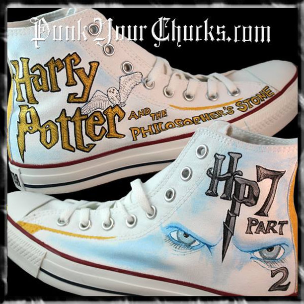 541f4e20058 Harry Potter Converse