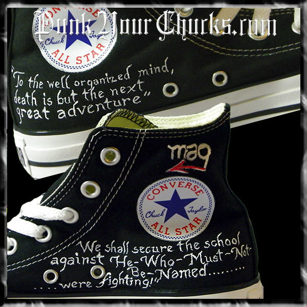 Harry Potter Portrait high chucks inside
