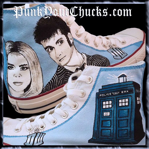 Doctor Who high Chucks Main