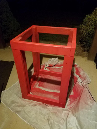 75 Gallon Wooden Stand