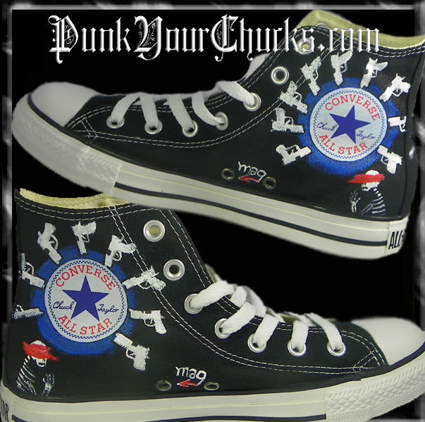 My Chemical Romance high Chucks insides.