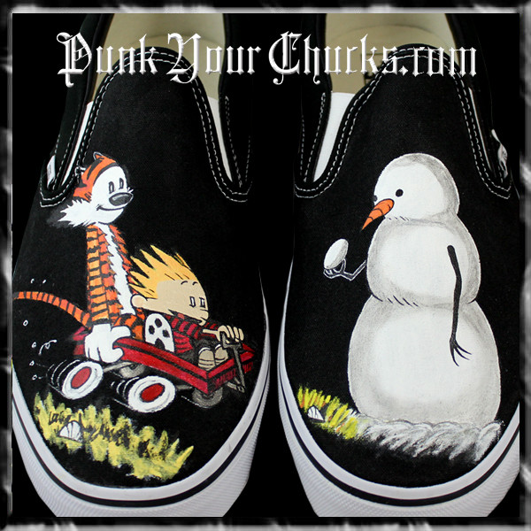 Calvin and hobbes Vans main