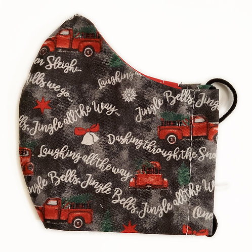 Christmas Jingle Bells with Red Truck