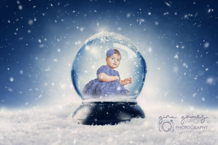 Christmas Snowy Snowglobe