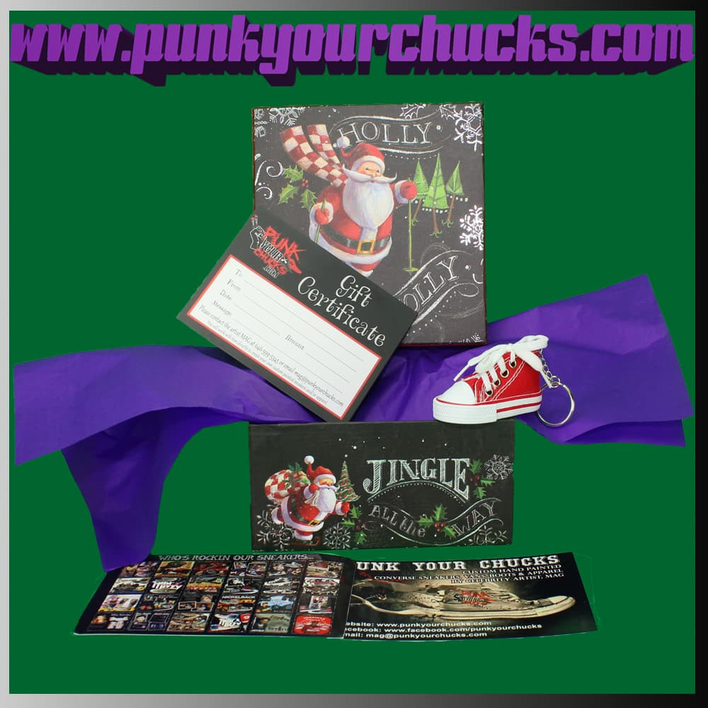 Punk Your Chucks Gift Box