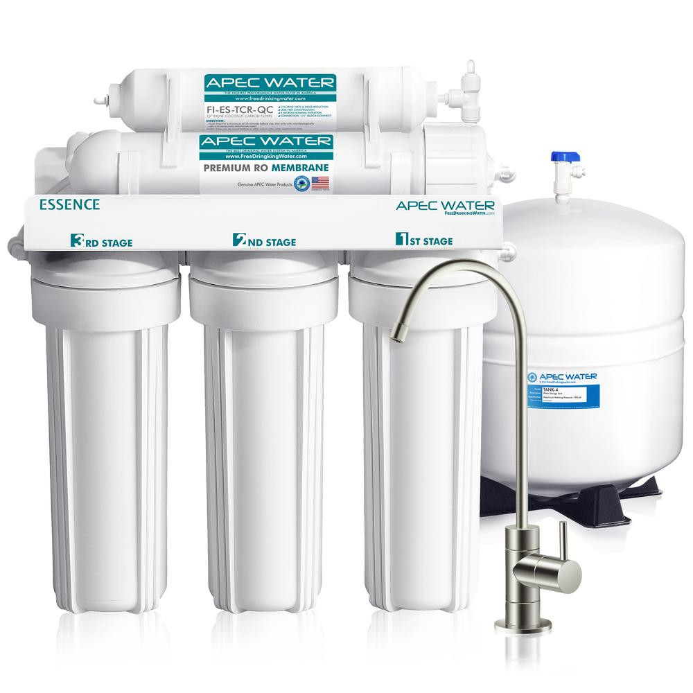 We purchased this Reverse Osmosis System because we wanted the best for our project!  No, APEC is not a sponsor.  We would say the same thing if they were sponsoring this.