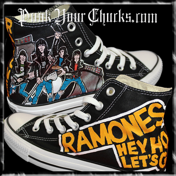 Ramones High Chucks MAIN