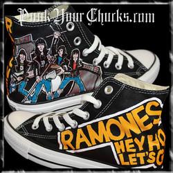 Ramones High Chucks MAIN