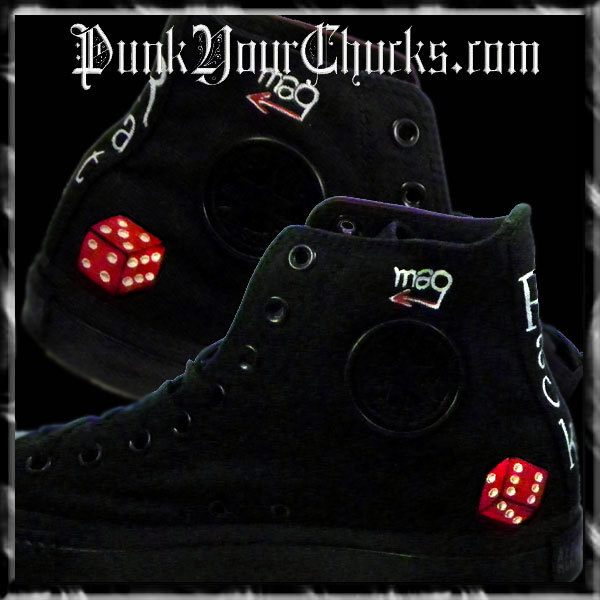 Rat Pack high Chucks insides