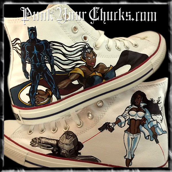 Black Avengers high chucks main