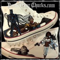 Black Avengers high chucks main