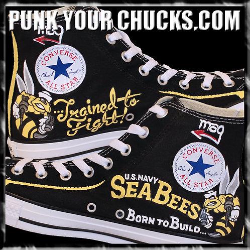 MIM Custom Converse Sneakers
