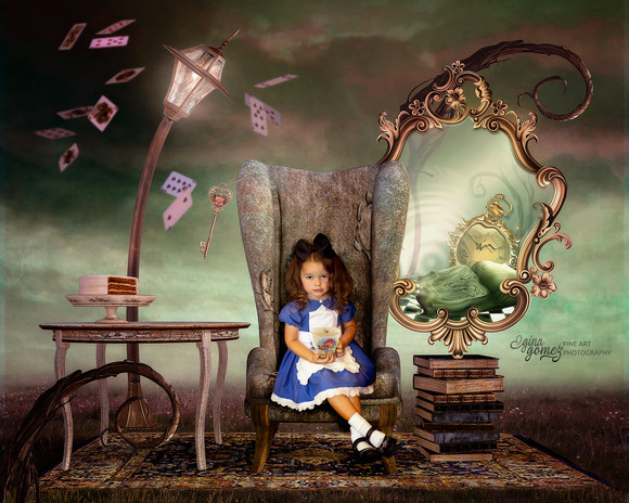 Alice in the Chair