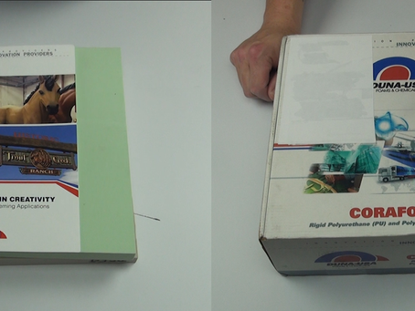 NEW!  VLOG #4: Unboxing High Density Foam Samples from DUNAUSA