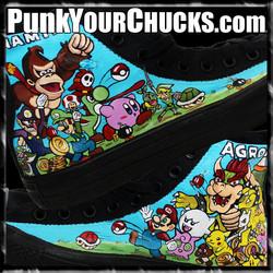 Nintendo high Chucks design 2 main