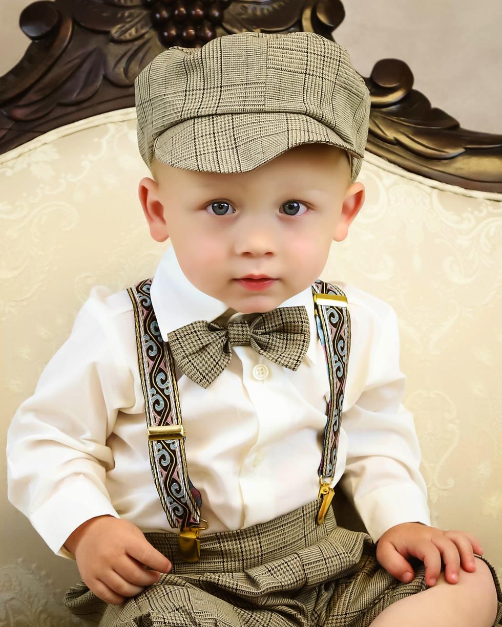 Little Boy in Cap