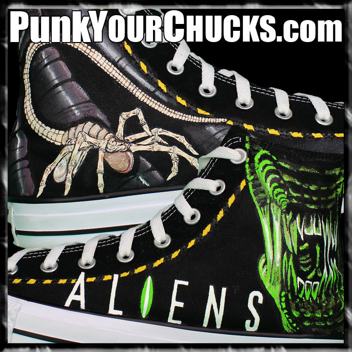 Aliens High Chucks Main