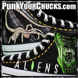 Aliens High Chucks Main