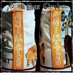 Pink Floyd Animals High Chucks spines