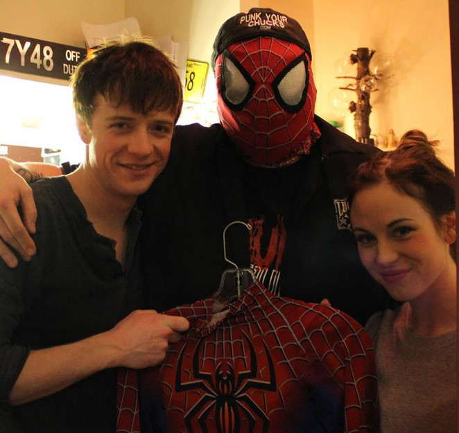 MAG and the cast from Broadways Spiderman.jpg