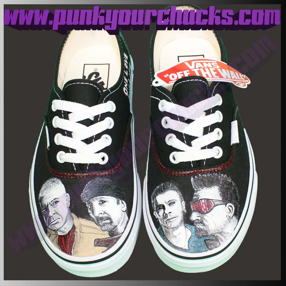 U2 BAND Low Chucks MAIN