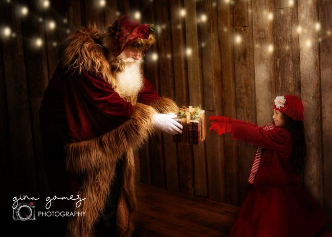 Christmas Rustic Santa