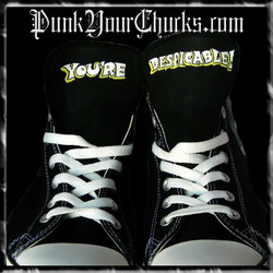 Daffy Duck Zoot suit High Chucks tongues