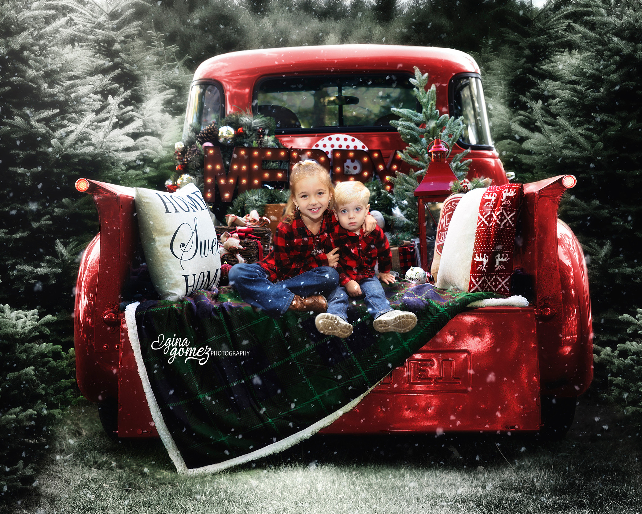 Red Truck Christmas Mini Session Nov 6&7