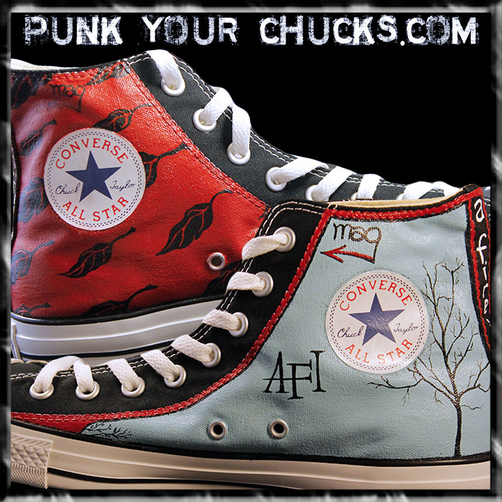 AFI High Chucks insides
