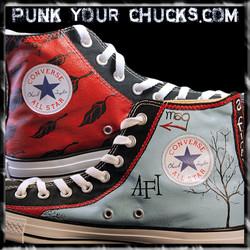 AFI High Chucks insides