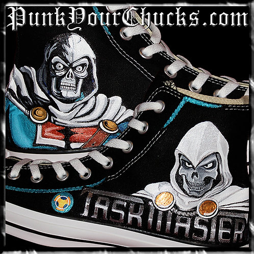 MARVEL Taskmaster Custom Converse Sneakers