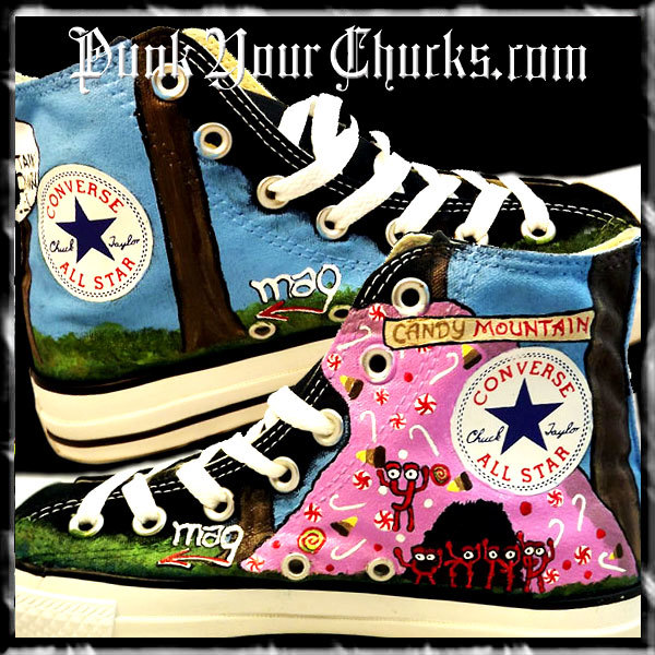 Charlie the Unicorn high chucks insides.
