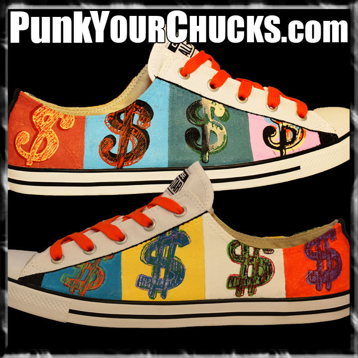 Andy Warhol Low Chucks main