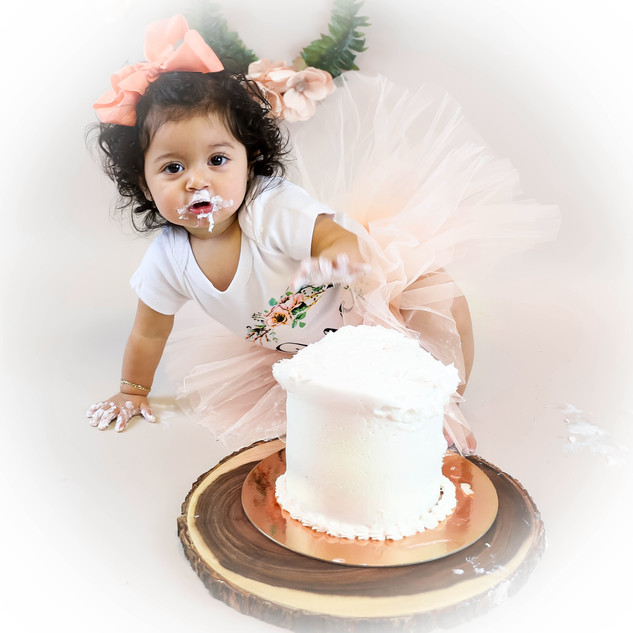 Cake Smash Photo Session
