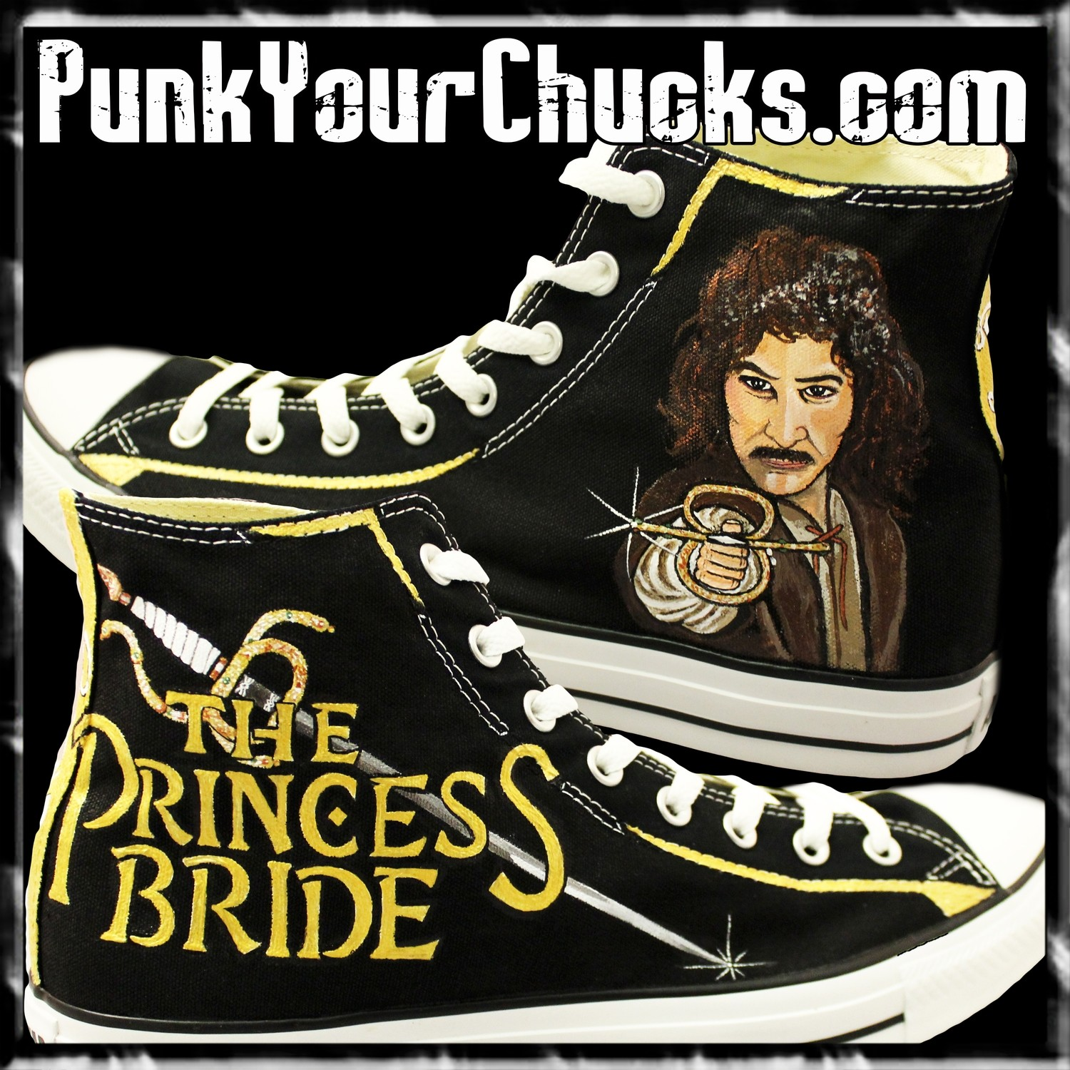 Princess Bride high Chucks MAIN