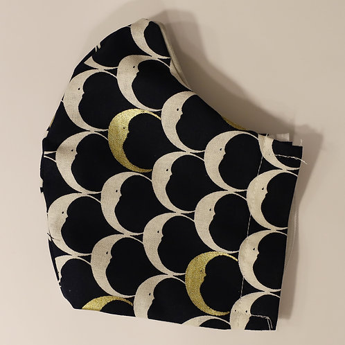 Crescent Moons on Navy