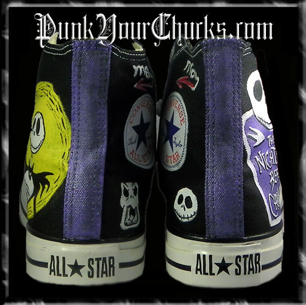 Nightmare Before Christmas high Chucks s