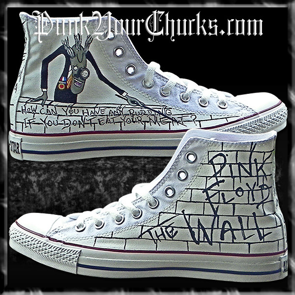 Pink Floyd The Wall high Chucks MAIN