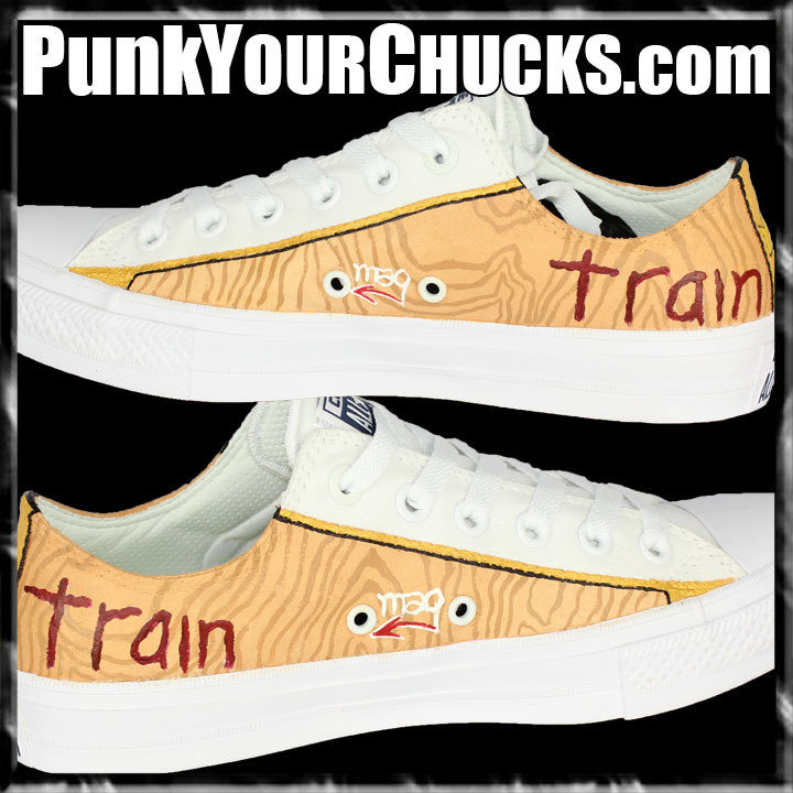 TRAIN Drops of Jupiter LOW Chucks inside