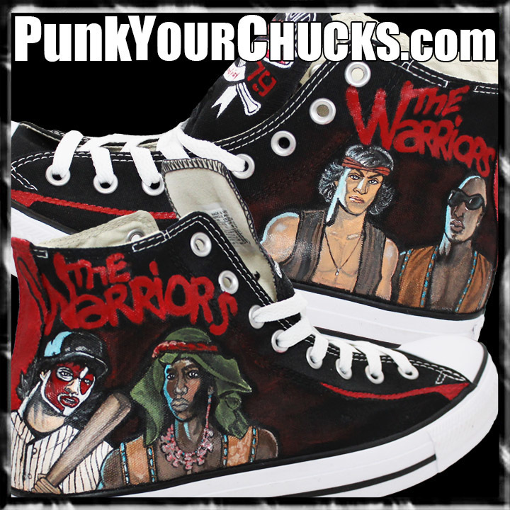 The Warriors High Chucks MAIN