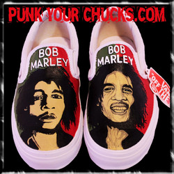 Bob Marley Vans Design 2
