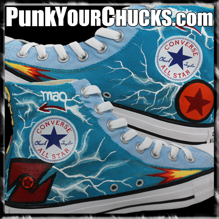Dragon Ball Z high Chucks DESIGN 2 insid