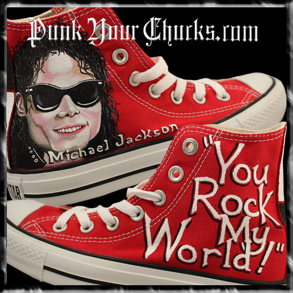 Michael Jackson you rock my world main h