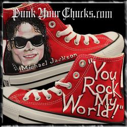 Michael Jackson you rock my world main h