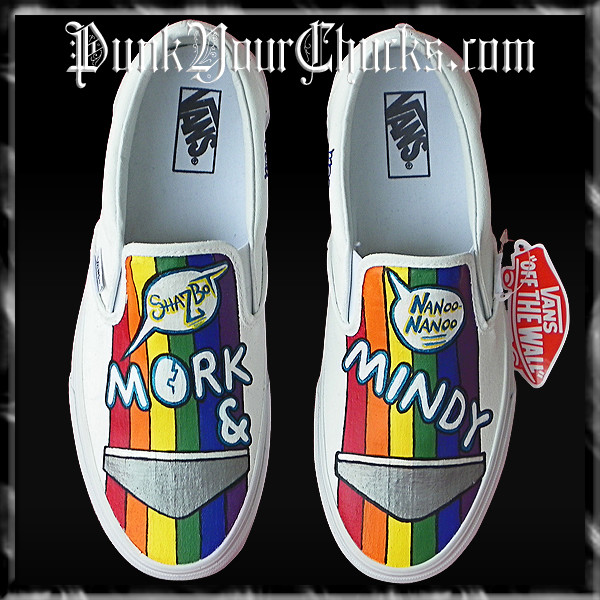 Mork and Mindy Vans Main