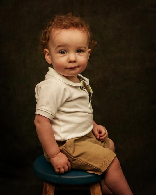 Little Boy Fine Art Portrait